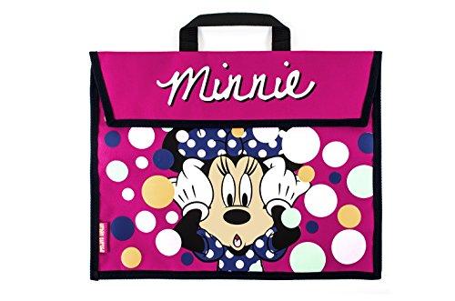 Buch-Tasche mit Motiv Minnie Mouse