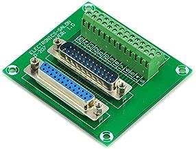 Electronics-Salon D-SUB DB25 Male / Female Header Breakout Board, DSUB Terminal Block, Connector.