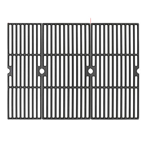 Uniflasy 18 Inch Grill Cooking Grates for Charbroil Performance 463377017, 463347017, 463376018P2, 463376117, 463377117, 463673617 4 Burner 475 Cart Liquid Propane Gas Grill, 5 Burner 463347519