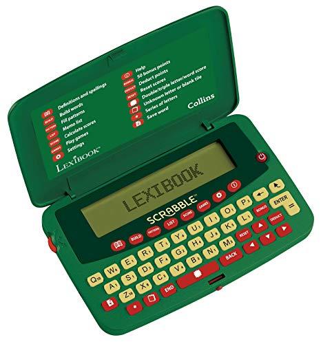 Lexibook SCF-328AEN Deluxe Diccionario electrónico de Scrabble