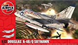 Airfix Douglas A-4B/Q Skyhawk 1:72, Multicolor, Scale (Hornby Hobbies LTD A03029A)