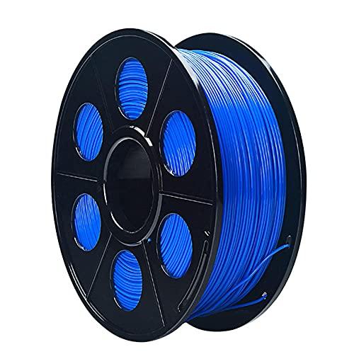 Nylon Filament 1.75mm 3D Printer PA Filament Accuracy +/- 0.03mm 1KG 2.2LBS Spool 3D Printing Filament for 3D Printers-Blue_1.75mm