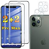2-Pack iphone11 promax Screen Protector and Camera Lens Compatible with Apple iPhone 11 Pro max 2019 Protective Glass IP...