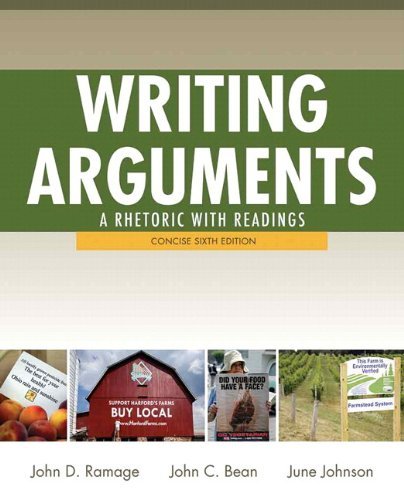 Writing Arguments: A Rhetoric with Readings, Concise Edition, with NEW MyCompLab with eText -- Access Card Package (6th Edition)