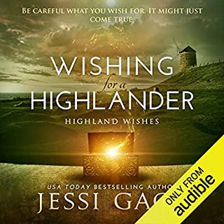 Wishing for a Highlander audiobook cover art