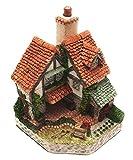 Figura decorativa de casita de jardineros