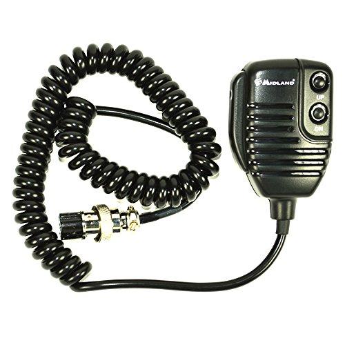 Midland MR 120 - Micrófono Remoto para Radio CB (6 Pines)