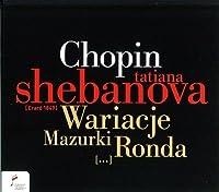 Variations / Mazurkas / Rondos by F. Chopin (2010-11-09)