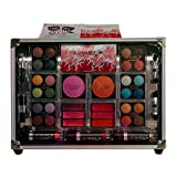 Cameo Train Makeup Kit with Reusable Aluminum Case Gift Set