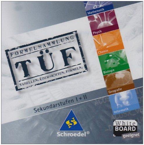 TÜF - Tabellen, Übersichten, Formeln: Paket: TÜF Gesamtband SI/SII + TÜF Interaktiv