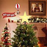 Mr. Christmas - Animated Tree Topper - Santa in Balloon