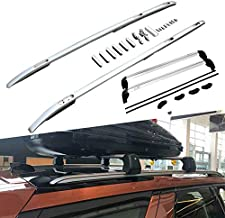 Kingcher 4 PCS Silver Roof Rails & Crossbars Fit for Land Rover Discovery 5 LR5 2017 2018 2019 Rack Bars Baggage Luggage