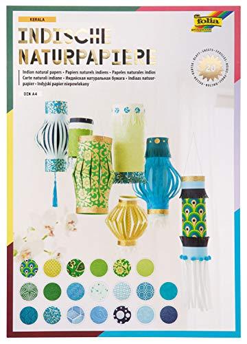 folia 550401 - Kreativblock Colours of India