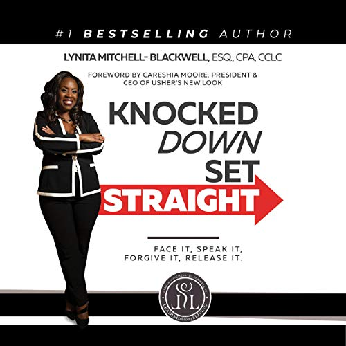 Knocked Down, Set Straight Audiobook By Lynita Mitchell-Blackwell cover art