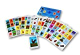 Autentica Loteria Mexican Bingo Set 10 Tablets Colorful and Educational! by El Gallo -