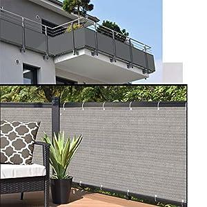 XYNH Jardín Protector De Pantalla Cubierta - Toldos Exterior - Oferta Exclusiva De Construcción De Punto Resistente - Toldos Balcón Patio