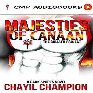 Majesties of Canaan: The Goliath Project audiobook cover art