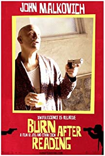 Best burn after reading poster Reviews