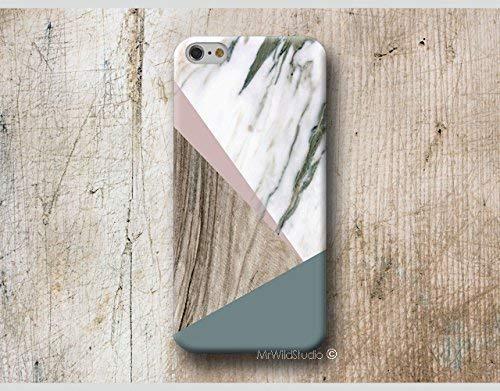 Holz Weiß Marmor Hülle Handyhülle für Samsung Galaxy S20 S20+ S20 ULTRA S10 5G S10e S9 S8 Plus S7 S6 Edge Plus S5 S4 mini Case Cover