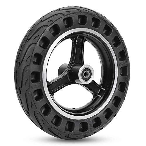 WYJW Elektroroller-Reifen, 10 Zoll Full Core Advanced Noise Reduction-Reifen Symmetrische Figur Gummi-Elektroroller-Reifen ohne Gas