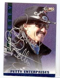 Richard Petty autographed trading card (Nascar) Autographed Racing Petty Enterprises Scorebard - Autographed NASCAR Cards