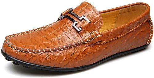 Générique FF Chaussures en Cuir pour Hommes