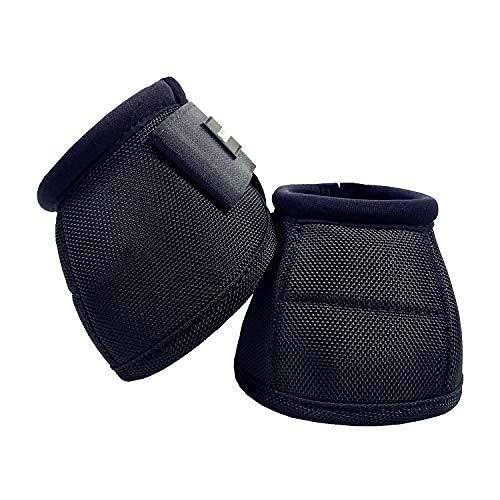 Botas de campana para caballos,Prevenir Overreach Horse Bell Boots,Durables y ligeros,Botas profesionales para cascos de caballo