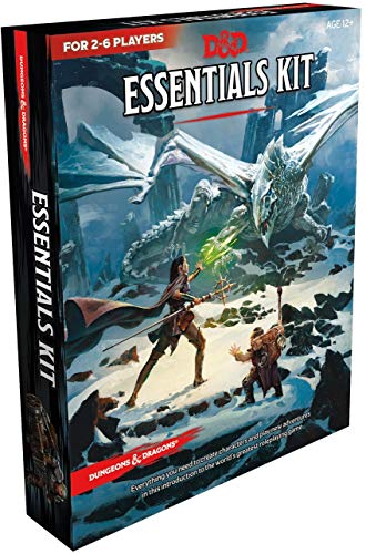 Dungeons & Dragons C70080000 Essentials Kit, Multi Juego de...
