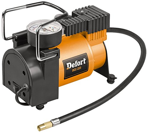 DeFort DCC-255 - Compressore per Auto, 12 V, con Motore ad Alta Prestazione
