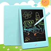 Bravokids Toys for 2-6 Years Old Girls Boys, LCD Writing Tablet 10 Inch Doodle Board, Electronic Drawing Tablet Drawing Pads, Educational Birthday Gift for 3 4 5 6 Years Old Boy and Girls (Blue)