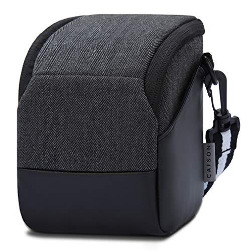 CAISON Tempo di Protezione Fotocamera Digitale Compact System Ponte Mirrorless Comfort Caso Portare Borsa a Tracolla Messenger