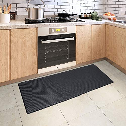 DEXI Kitchen Rug Cushioned Anti Fatigue Kitchen Mats 2 5Inch Waterproof Non Skid Memory Foam product image