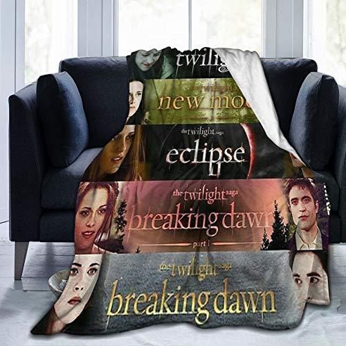 Twilight Movies Micro Fleece Bed Blankets Super Soft Cozy Luxury Couch Blanket All Season Premium Bed Blanket 50'X40'