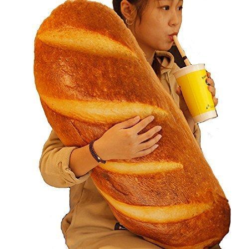 DearDo 31.5-Inch Fancy French Bread Plush Cushion Throw Pillow Soft Sofa Car Decoration Stuffed Plush Toy
