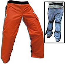Forester Chainsaw Safety Chaps with Pocket, Apron Style (Long 40