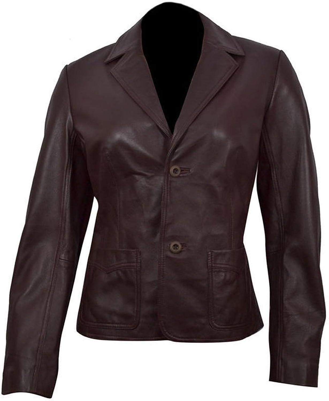 Classyak Women's Fashion Slimfit Leather Jacket