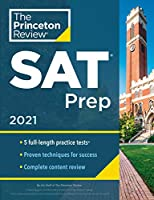 Princeton Review SAT Prep, 2021: 5 Practice Tests + Review & Techniques + Online Tools (2021) (College Test Preparation)