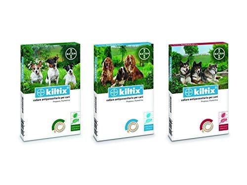 Bayer Kiltix Kiltix hondenhalsband tegen ongedierte, klein, 70 cm