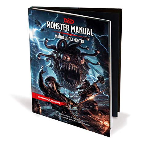 Asmodee- D&D Monster Manuale dei Mostri, 4002