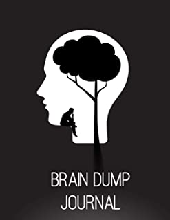 Brain Dump Journal: Declutter your brain and release your best ideas. This brain dump journal will help you get all your thoughts, ideas and things to do on paper.