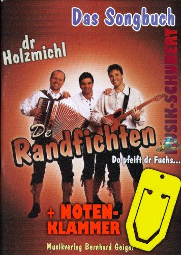 De randvachten - Het songboek incl. praktische muziekklem - de 16 grootste hits o.a. met DR HOUZMICHL gearrangeerd voor piano/keyboard met akkoorden en volledige tekst (broched) (noten/sheetmusic)