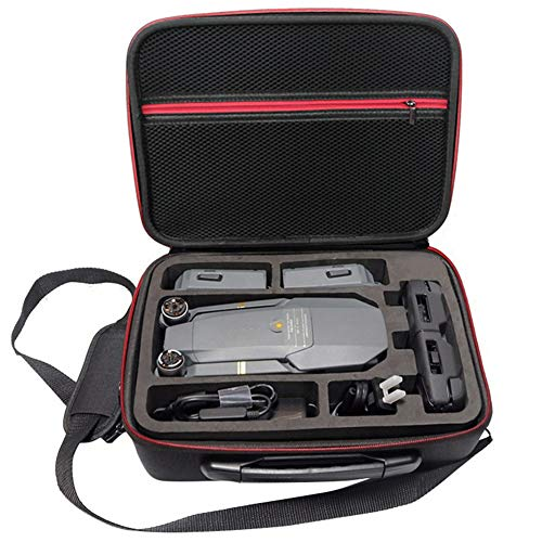 Soyan Carrying Case for DJI Mavic Pro Platinum/Mavic Pro, Fits Drone, Remote Controller, Batteries and Accessories (Black)