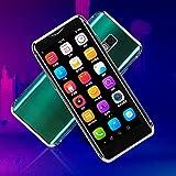 I10S Mini Teléfono Inteligente 4G, Teléfono Móvil De Tarjeta Dual De 3,5 Pulgadas, Teléfono Móvil Ultrafino Para Estudiantes, Sensación Cómoda En Las Manos, Tecnología Fotosensible En 3D(Plata)