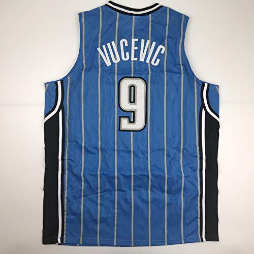 Unsigned Nikola Vucevic Orlando Blue Custom Stitched Basketball Jersey Size Men's XL New No Brands/Logos