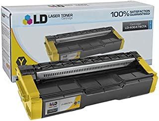 LD Compatible Toner Cartridge Replacement for Ricoh 406478 High Yield (Yellow)
