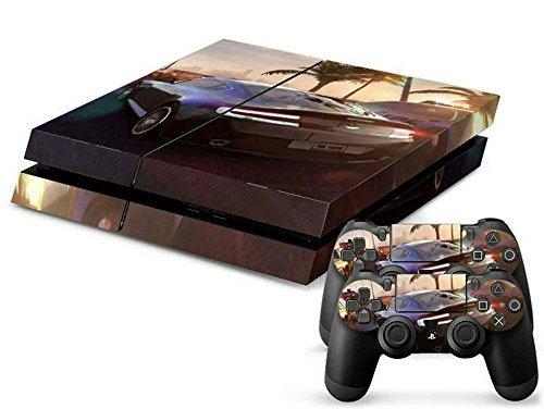 ModFreakz® Console/Controller Vinyl Skin Set - Crew Auto Cars Racing for PS4 Original