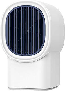 Mini Calefactor Eléctrico Portatil Calefactor Eléctrico Cerámico Ventilador Calefactor Portátil Personal, Oscilación Automática, Protección de Seguridad para Dormitorio, Sala de Estar durable