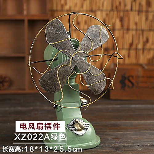 LAOZHOU-Creative Home muebles antiguos de estilo europeo de ventiladores eléctricos decoración salón...