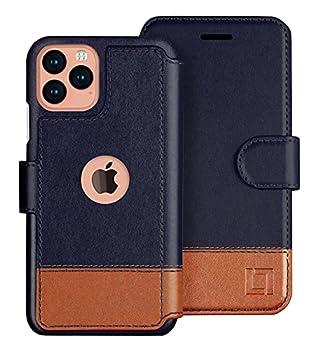 LUPA iPhone 12/12 Pro Wallet Case Credit Card Holder for Women & Men Faux Leather Flip Case Desert Sky