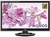 シャープ 22V型 液晶 テレビ AQUOS LC-22